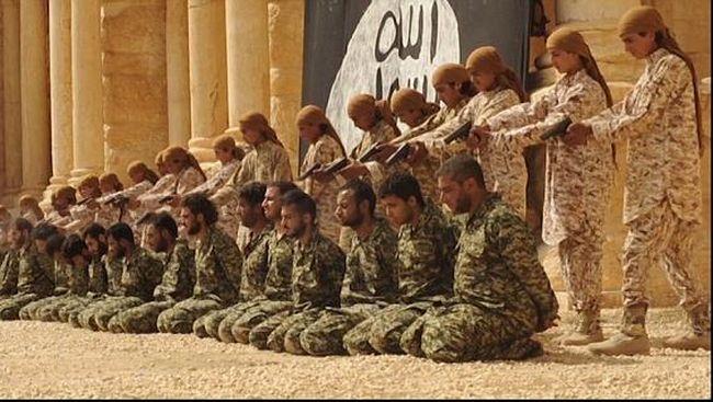 Video Baru ISIS, Tentara Suriah Dieksekusi di Teater Palmyra