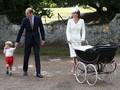 Kate Middleton Gunakan Stroller 'Jadul' di Baptisan Charlotte
