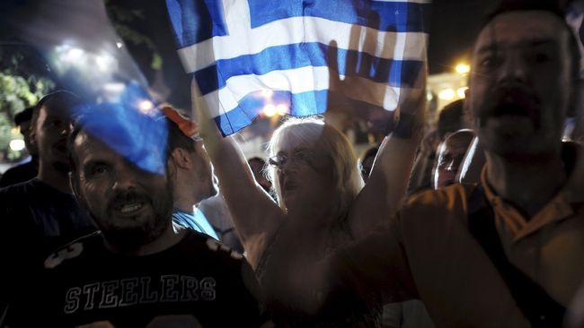Referendum Yunani Hasilkan Penolakan atas Desakan Eropa