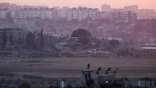 Israel Tembak Warga Palestina Pelempar Granat ke Perbatasan