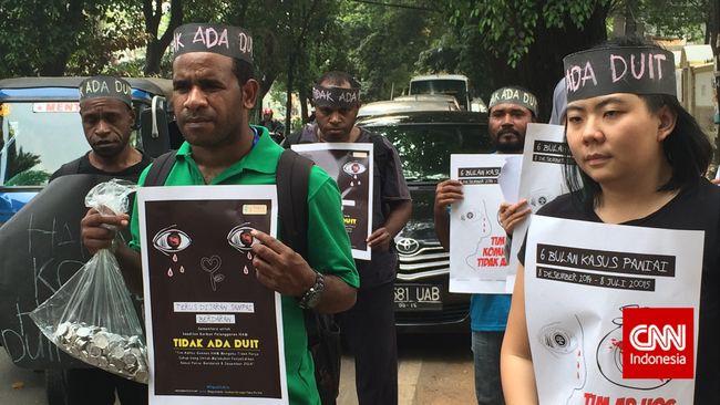 Keluarga Korban Tagih Janji Jokowi Tuntaskan Kasus Paniai