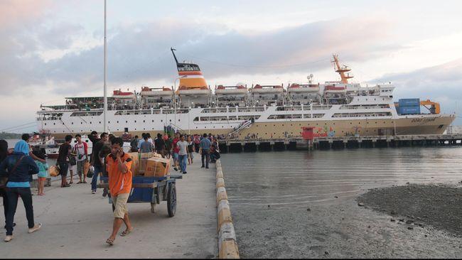 Peserta Mudik Gratis Kapal Laut Baru 30 Persen Kuota