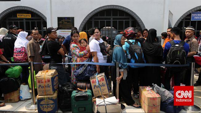 Keramaian Jakarta Tak Mampu Ganti Kebahagiaan Mudik