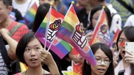 Taiwan Geram China Klaim Legalisasi UU Nikah Sesama Jenis