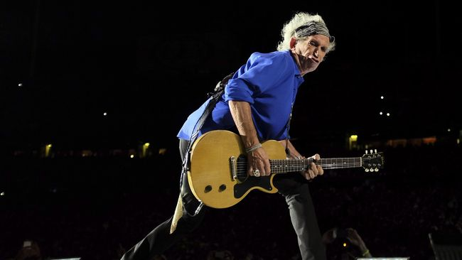 Keith Richards Tak Acuh Album Solo Mick Jagger