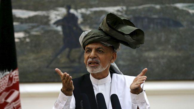 Tanpa Syarat, Presiden Afghanistan Ajak Taliban Berunding
