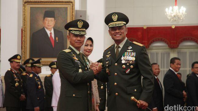 Panglima TNI Beberkan Alasan Penunjukan Mulyono Menjadi KSAD