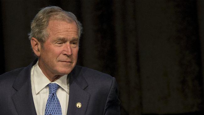 Buku Lukisan Karya George W Bush Dipuji Kritikus