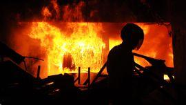 Kebakaran Tewaskan 4 Orang di Jakut karena Korsleting Listrik