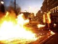 Demonstrasi Anti-Bailout di Yunani Berujung Kerusuhan