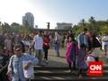 Hampir 12 Ribu Orang Kunjungi Monas Akhir Pekan Ini