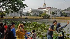 Tahun Baru, Kebun Raya Bogor Didatangi 10 Ribu Wisatawan