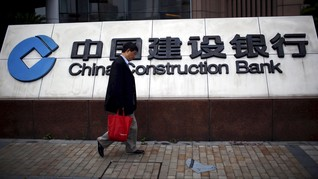 China Construction Bank Incar Naik Kelas ke Buku 3