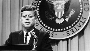 Dokumenter Detik-detik Kematian JFK 'Teriak' Minta Dana