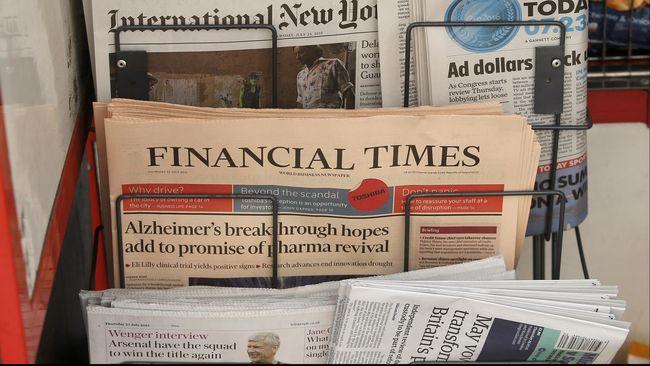 Jumlah Pekerja Koran AS Menurun Drastis Satu Dekade Terakhir