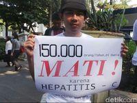 Infeksi virus hepatitis B dan C kerap tidak terdeteksi. Dalam jangka panjang, penyakit ini bisa memicu sirosis atau pengerasan hati yang bisa berkembang menjadi kanker yang mematikan. Foto: AN Uyung Pramudiarja