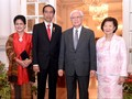 Singapura Beri Nama Anggrek 'Dendrobium Iriana Jokowi'