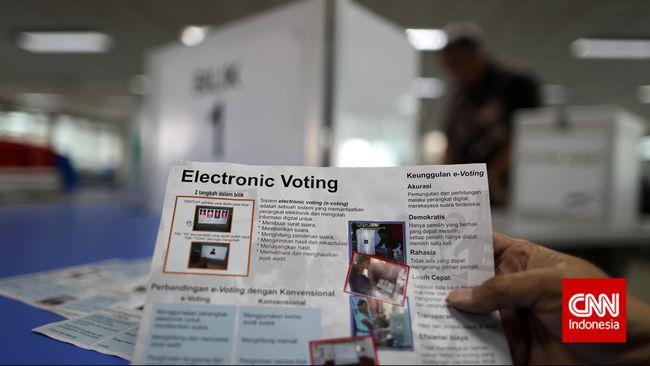 Kenali Sistem Pemilu Elektronik dan Tanda Tangan Digital