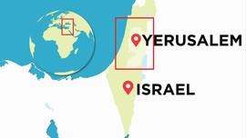 Denah Permukiman Israel di Tepi Barat