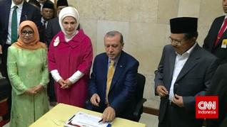 Kala JK Ajak Presiden Turki Keliling Masjid Istiqlal