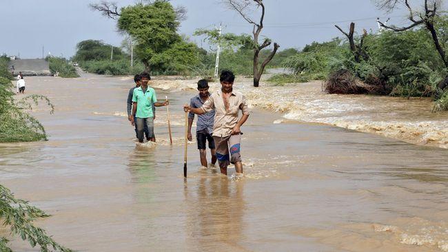 Sebanyak 1,5 Juta Warga Terkena Dampak Banjir di India