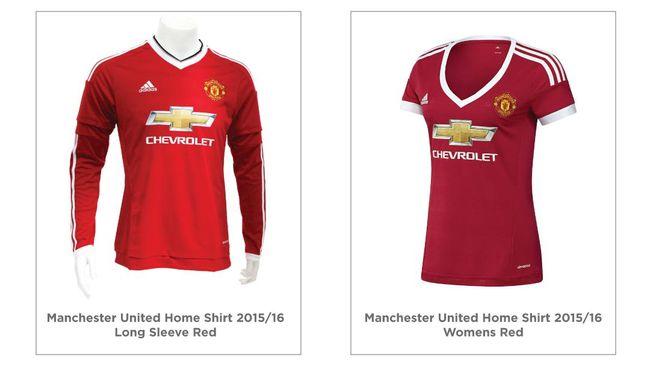 finest selection 0485c a1bca Perdebatan Sexist Dalam Seragam Baru Manchester United