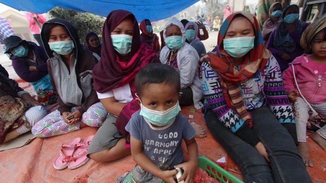 Jokowi Minta Penanganan Sinabung Beres Akhir Tahun 2015