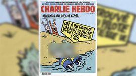 Charlie Hebdo Ejek Penemuan Puing MH370
