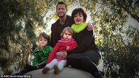 Pria transgender asal Melbourne, AJ Kearns mengajukan diri untuk hamil dan melahirkan setelah sang istri mengalami komplikasi medis setelah kelahiran putra pertamanya. Foto: ABC/Australian Story