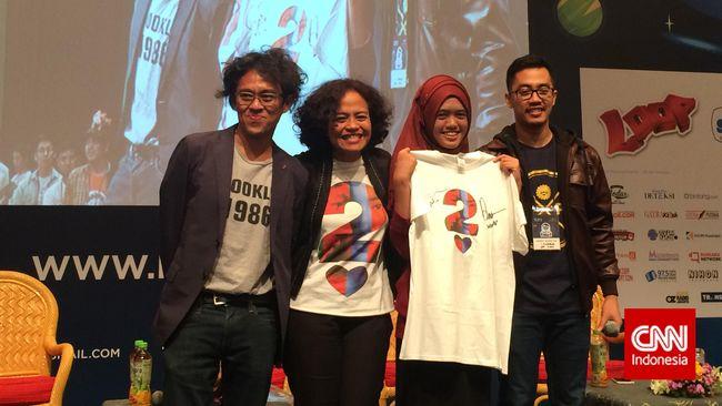 Kaus AADC 2 Bertanda Tangan Cinta-Rangga Dilelang Rp3,5 Juta