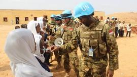 Unamid Beri Penghargaan Pasukan TNI di Sudan