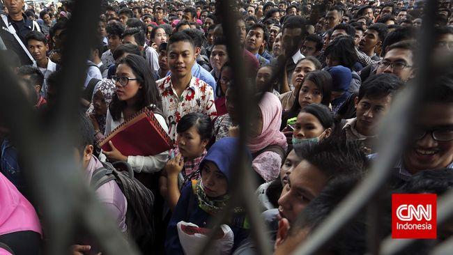 BPS: Jumlah Pengangguran di Indonesia Menciut 530 Ribu Orang