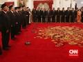 Gubernur Ahok Doakan Menteri Baru Buat Jokowi Berhasil