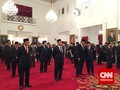 Jokowi Anugerahkan Tanda Kehormatan ke 46 Tokoh Nasional