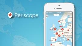 Durasi Streaming Harian di Periscope Diklaim Setara 40 Tahun