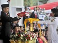 Jokowi Jadi Inspektur Upacara Penurunan Bendera