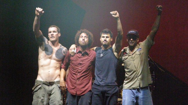 Rage Against The Machine Umumkan Tambahan Konser Reuni