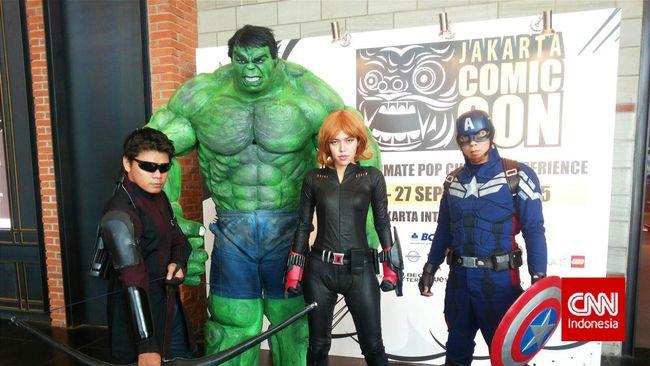 Konvensi Akbar Comic Con Akan Hadir di Jakarta