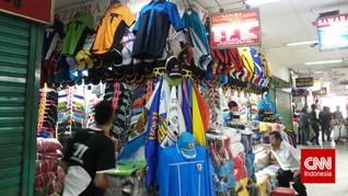 Juragan Kaus Pasar Senen Siap Berebut Untung dari Pilkada
