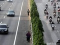 Pascaaksi Sweeping, Jalan MT Haryono Kembali Kondusif