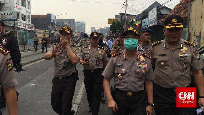 Kapolda Metro Jaya Temui Ahok Bahas Lima Tertib Pemprov DKI