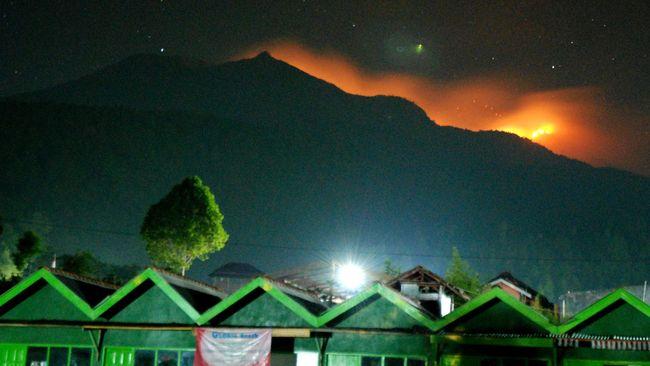 Gunung Merbabu Kebakaran, Para Pendaki Dievakuasi