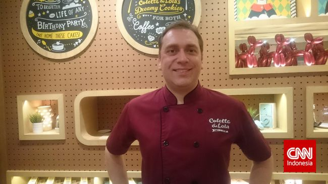 Steve Diaz, Chef Pastry Pelancong Empat Benua