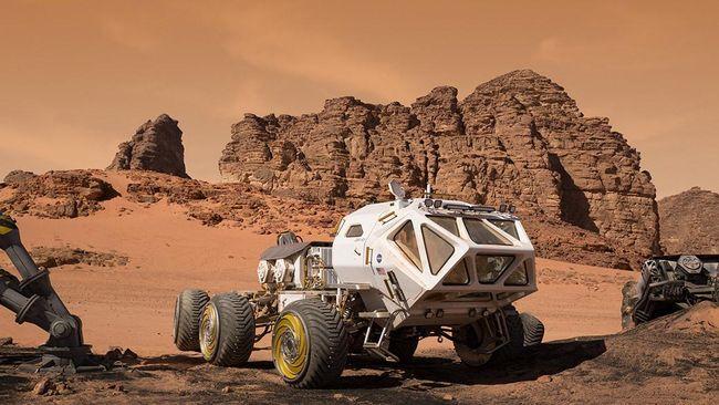 Rover Mars Terinspirasi Ide Siswa SMP Mengangkasa Juli 2020