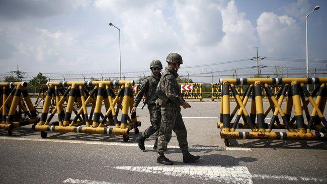 Korsel: Tentara Korut Pembelot Diberondong 40 Peluru