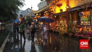 Menjejak Chengdu, Negeri Surga Seribu Wajah di China