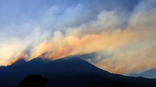 Jalur Pendakian Puncak Gunung Lawu Ditutup Akibat Kebakaran