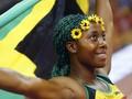 Putri Jamaika Hattrick Medali Emas 100 Meter Kejuaraan Dunia