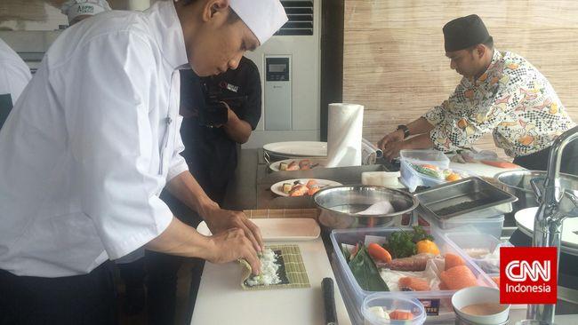 Pertarungan Koki-koki Indonesia Menuju Kompetisi Sushi Dunia