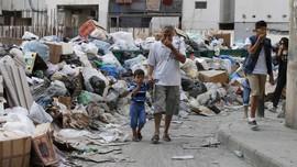 Sampah Menimbun Kota di Libanon